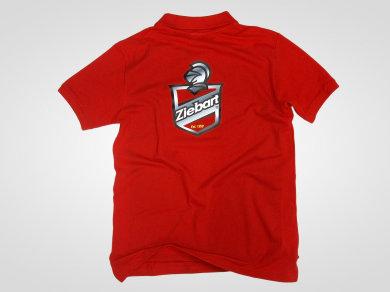 Flex lateksowy na koszulkach polo dla Ziebart Polska