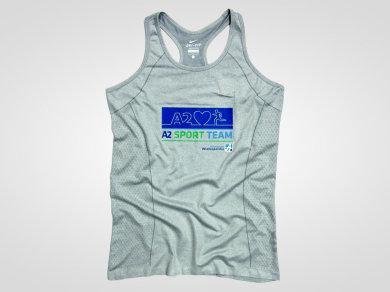 Flex Lateksowy na koszulkach sportowych termoaktywnych
