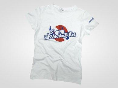 Sitodruk na koszulkach bawełnianych dla akwanauta.com.pl
