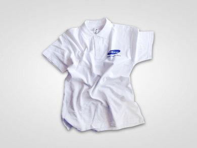 Druk cyfrowy DTG na koszulkach polo dla firmy Samsung