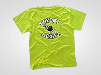 Flex Lateksowy na neonowych koszulkach sportowych