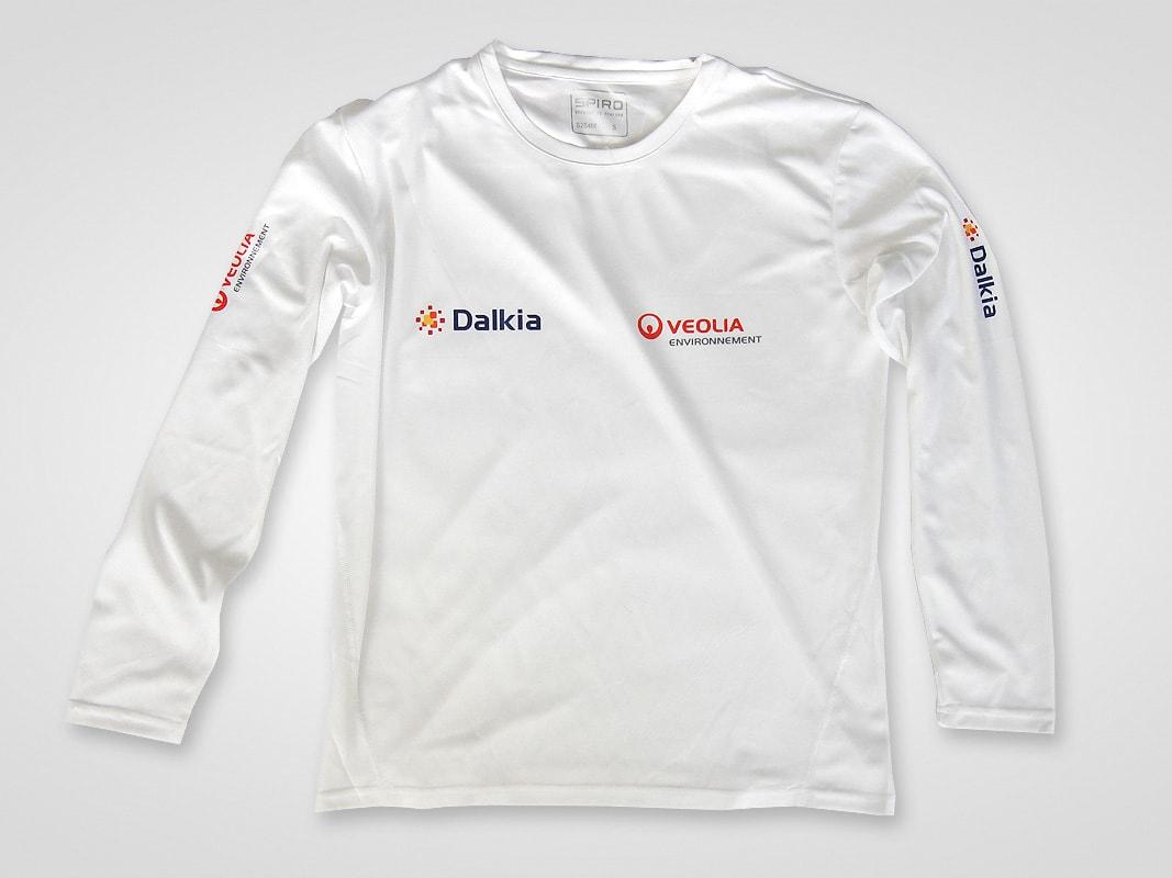 Sublimacja na koszulkach sportowych