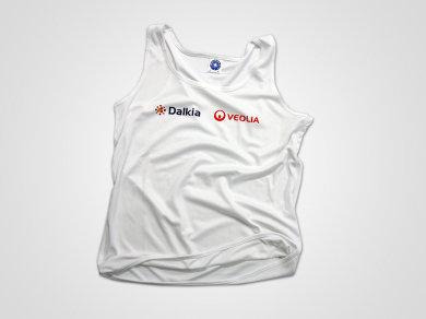 Sublimacja na koszulkach sportowych poliestrowych