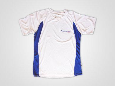 Sublimacja na koszulkach sportowych dla Fresh Logistics
