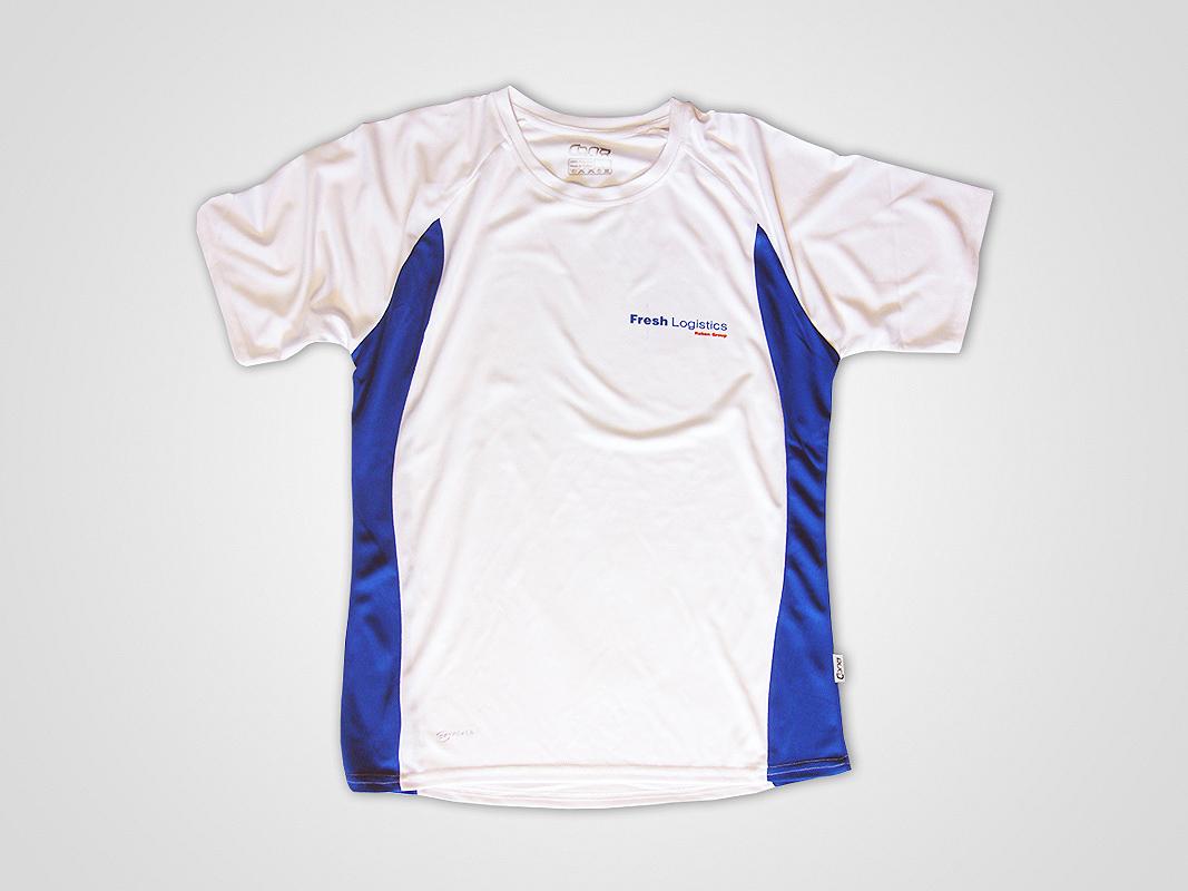 2bad616050eb52 Sublimacja na koszulkach sportowych dla Fresh Logistics