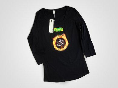 Druk cyfrowy DTG na koszulkach bawełnianych dla Kamis
