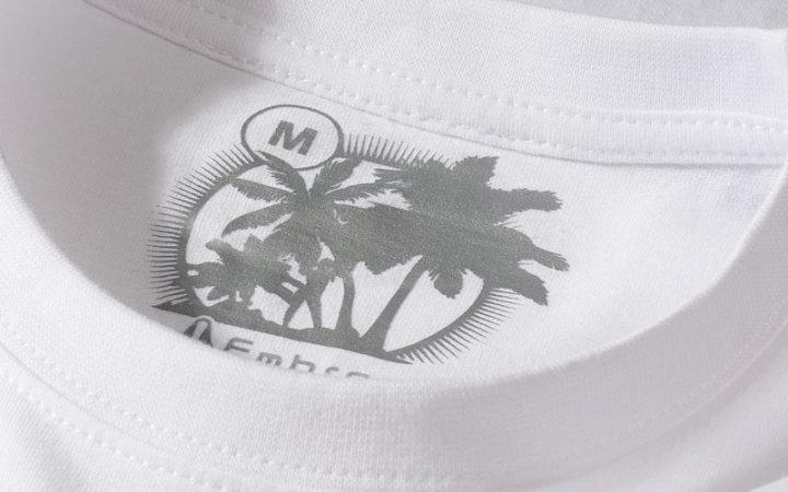 Metka odzieżowa drukowana