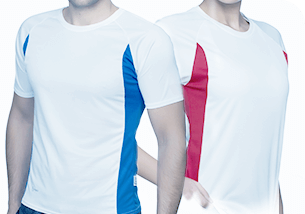 Koszulki sportowe męskie i damskie.