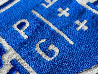Haft komputerowy na bluzach dla Politechniki Gdańskiej