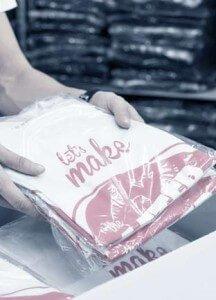 Pakowanie koszulek