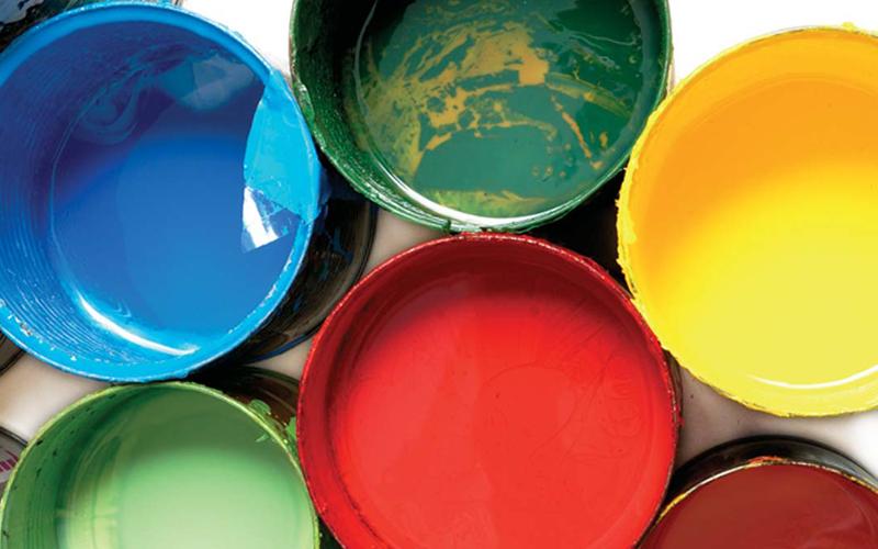 Rodzaje farb do sitodruku