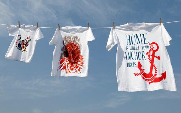 sitodruk - jak prać koszulki