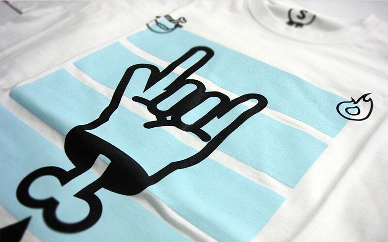 sitodruk na koszulkach
